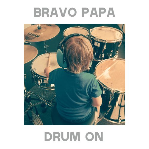 Bravo Papa - Drum On coverart 2